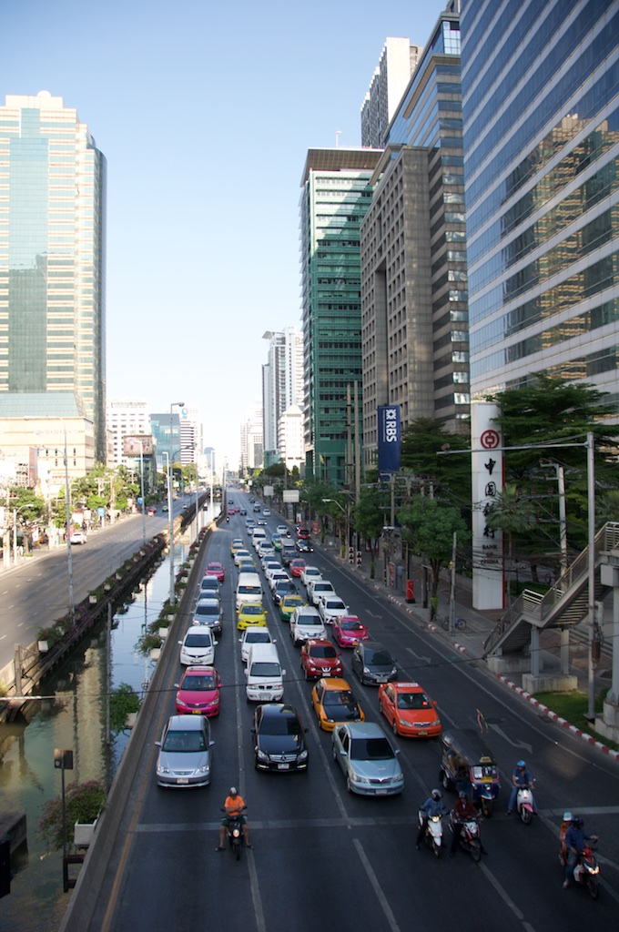 Traffic at Bangkok