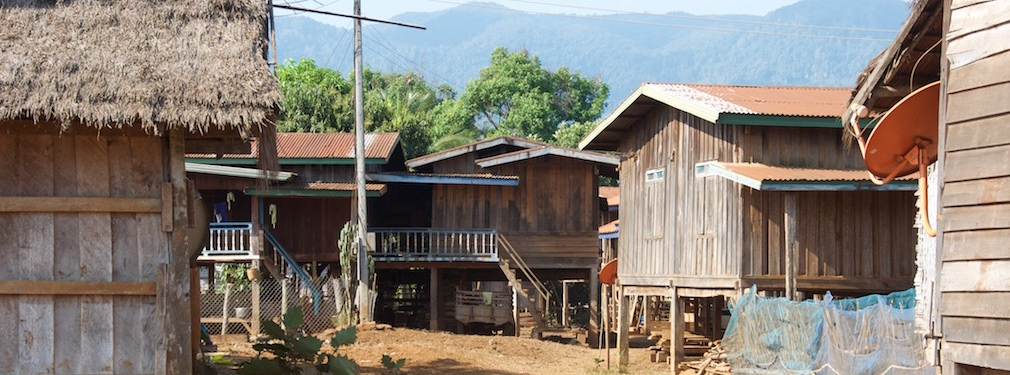 Village near Sekong bolaven loop