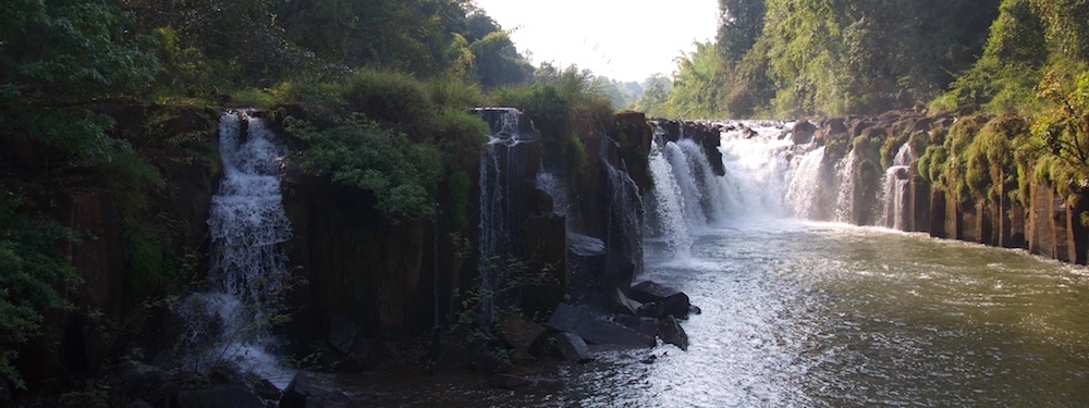 Waterfall near Pakse
