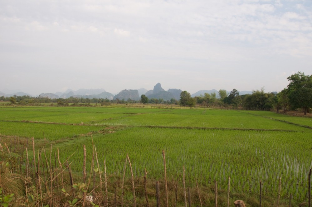 View of karst mountain the loop