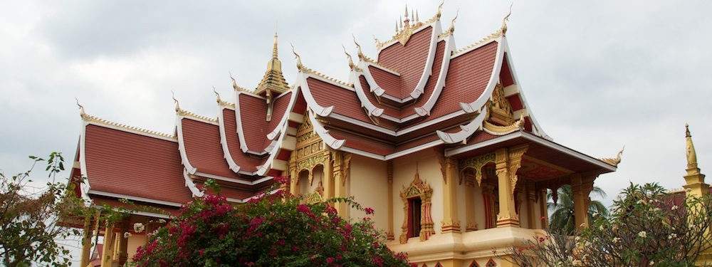 Temple at Phu That Luang