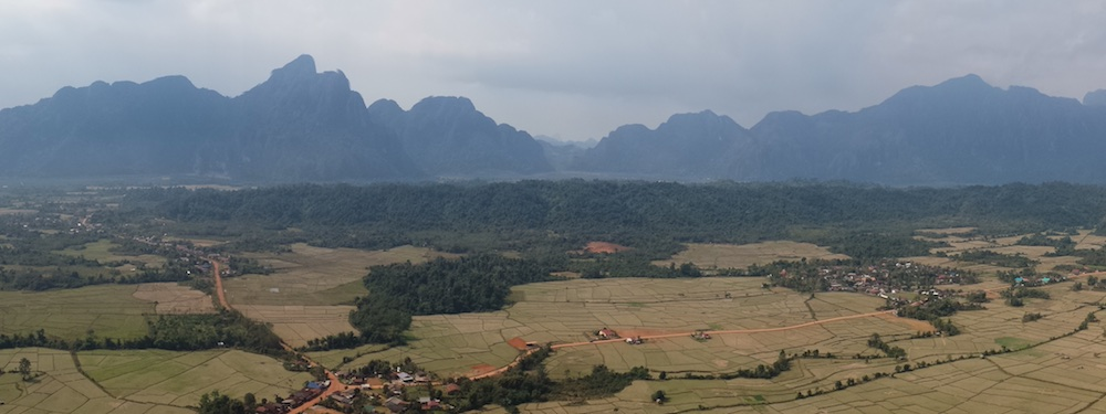 Views of Vang Vieng